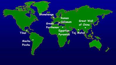 World Map: Discovering Ancient Civilizations